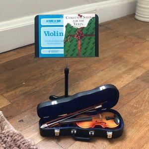 Lot American Girl Violin w/ Accessories- EUC